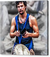 We Need More Cowbell Acrylic Print