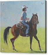 We Save Horses Three Acrylic Print