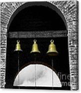We Three Bells Acrylic Print