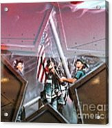 We Will Always Remember Acrylic Print
