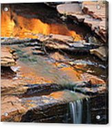Weano Gorge - Karijini Np 2am-111671 Acrylic Print
