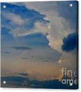 Weather Rising Acrylic Print