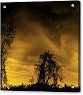 Weather Warning Acrylic Print