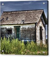 Weathered And Worn Well  Acrylic Print by Saija  Lehtonen