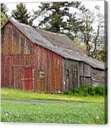 Weathered Barn 2 Acrylic Print