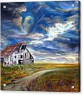 Weathered Barn Acrylic Print