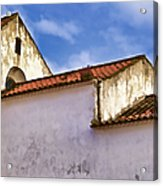 Weathered Barn Of Medieval Europe Acrylic Print