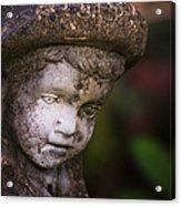 Weathered Boy Acrylic Print