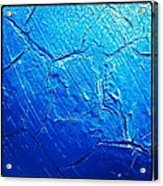 Weathered In Blue Acrylic Print