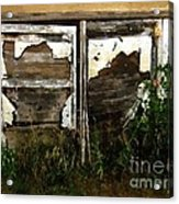 Weathered In Weeds Acrylic Print