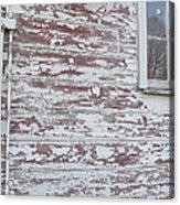 Weathered North Barn Lower Window Acrylic Print