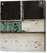 Weathered Old Door Acrylic Print
