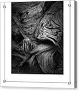 Weathered Poster Acrylic Print