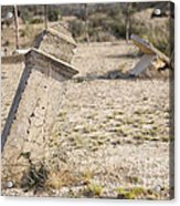 Weathered Remains Acrylic Print