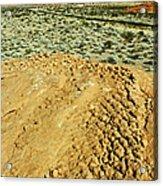 Weathered Rock Acrylic Print