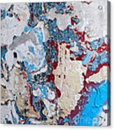 Weathered Wall 02 Acrylic Print