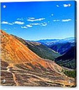 Webster Pass Colorado Acrylic Print