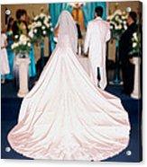Wedding Dolores Acrylic Print