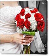 Wedding Acrylic Print by Elena Elisseeva