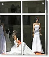 Wedding Shop In Tbilisi Acrylic Print