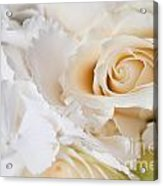 Wedding White Flowers Acrylic Print
