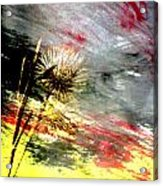 Weed Abstract Blend 2 Acrylic Print