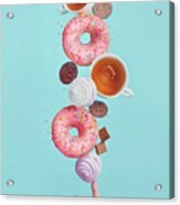 Weekend Donuts Acrylic Print
