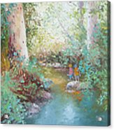 Weekends At The Creek Acrylic Print