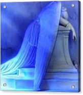 Weeping Angel Acrylic Print by Don Lovett