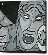 Weeping Angel Acrylic Print