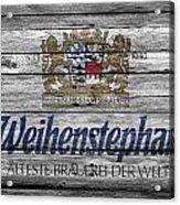 Weihenstephan Acrylic Print