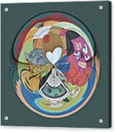 Weird Orb  Acrylic Print