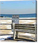 Welcome To Asbury Park Acrylic Print