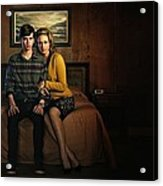 Welcome To Bates Motel Acrylic Print