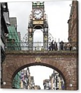 Welcome To Chester Acrylic Print