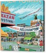 Welcome To Hellhampton Acrylic Print