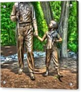 Welcome To Mayberry Acrylic Print