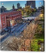 Welcome To Rochester Acrylic Print