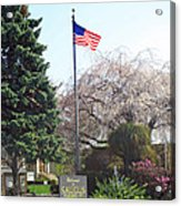 Welcome To Saugus Acrylic Print
