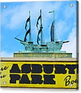Welcome To The Asbury Park Boardwalk Acrylic Print