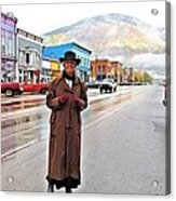 Welcome To The West Acrylic Print