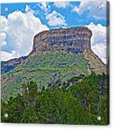 Welcoming Mesa To Mesa Verde National Park-colorado- Acrylic Print