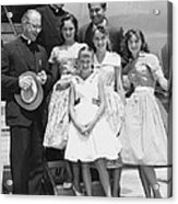 Welk And The Lennon Sisters Acrylic Print