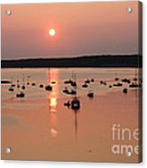 Wellfleet Harbor Sunset Acrylic Print