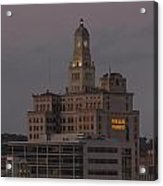 Wells Fargo Bank Building At Sunset. Acrylic Print