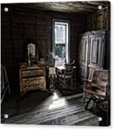 Wells Hotel Bridal Suite - Garnet Ghost Town - Montana Acrylic Print