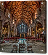 Welsh Cathedral  Acrylic Print