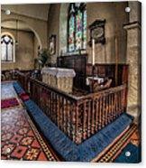 Welsh Chapel Acrylic Print