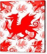Welsh Dragon Acrylic Print