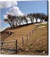 Welsh Farmland Acrylic Print